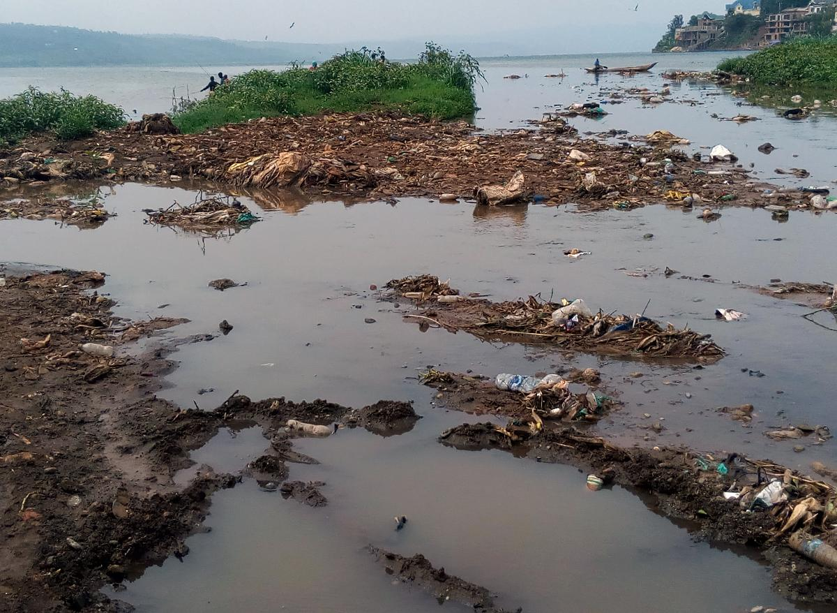 Pollution du lac Kivu